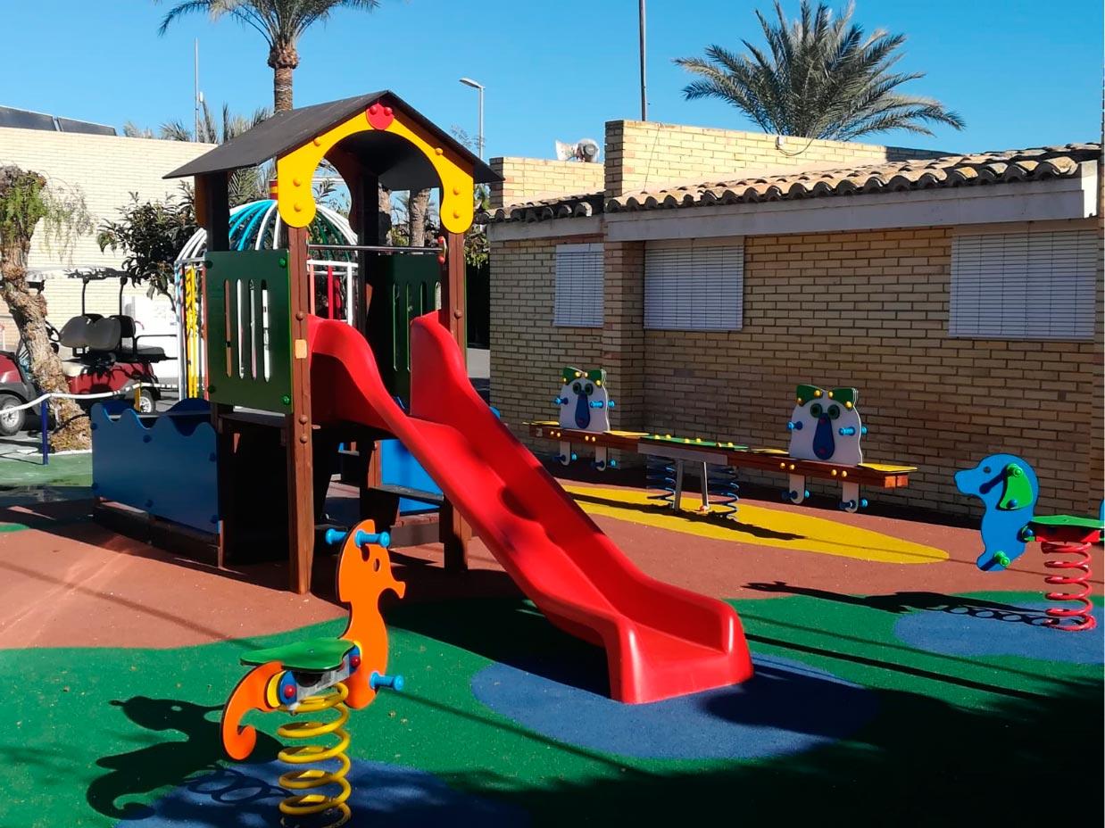 Parque Infantil Camping Bahia Santa Pola 1