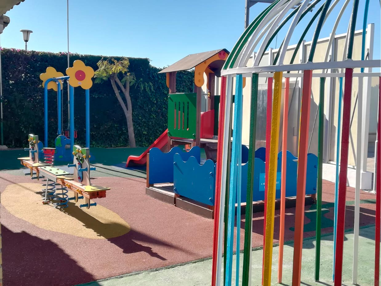 Parque Infantil Camping Bahia Santa Pola 3