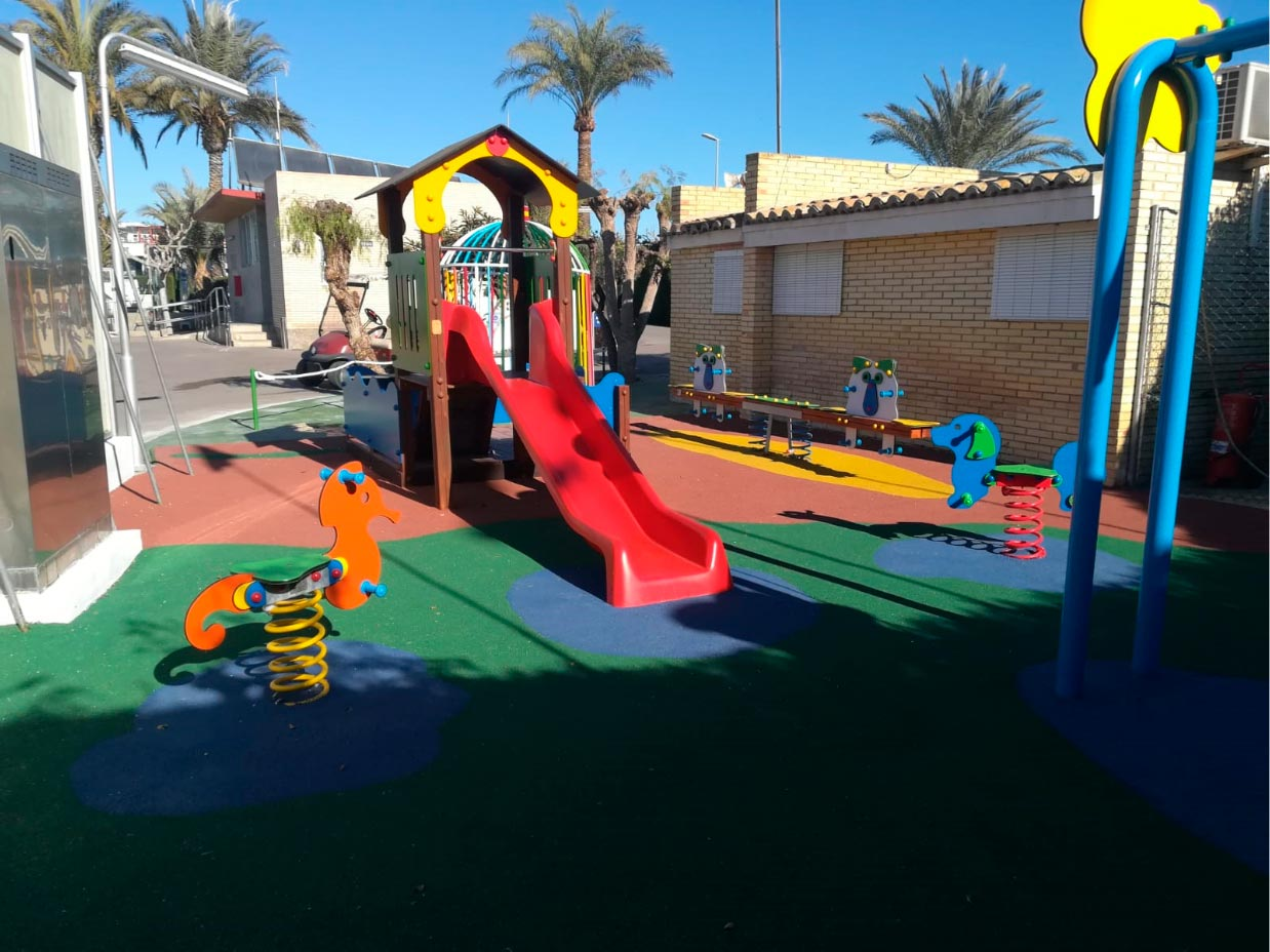 Parque Infantil Camping Bahia Santa Pola 4